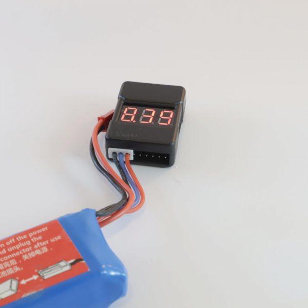 מודד סוללת ליתיום עם התרעה דגם BX-100